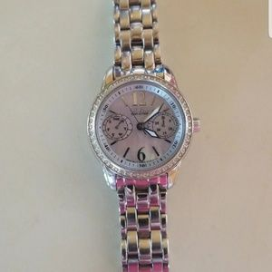 Womens Citizen Eco Drive mother of pearl watch